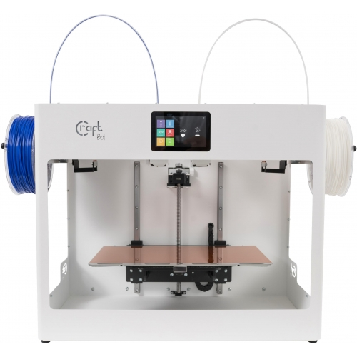 CraftBot Flow Idex 3D Printer (White)