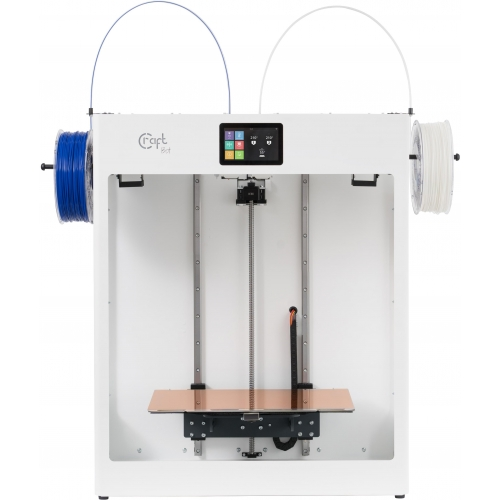 CraftBot Flow Idex XL 3D Printer (White)